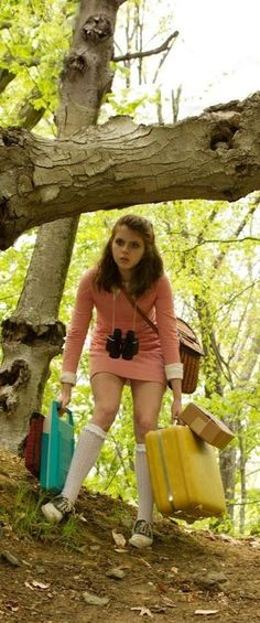 vintage luggage, Wes Anderson's Moonrise Kingdom