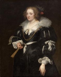 ab. 1630-1635 Anthony van Dyck - Portrait of a young woman