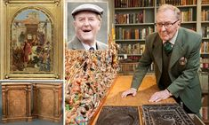 Actor Robert Hardy sells his antique collection