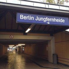 #Berlin-#Jungfernheide: der Name ist so vielversprechend die Realität so traurig.