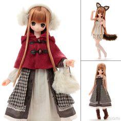AmiAmi [Character & Hobby Shop] | EX Cute - Komorebi Mori no Doubutsu-tachi Ookamisan/ Himeno