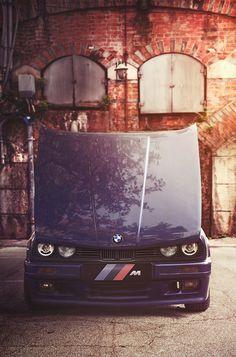 BMW  E 30 vintage coupe oldtimer car