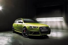 Kermit de Kikker: RS4 Avant door Audi Exclusive