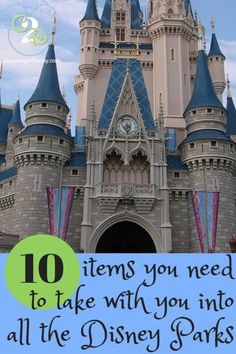 Planning for a Disney World Vacation can seem overwhelming. Packing for a Disney World vacation is a whole other aspect. Learn what veterans pack when they travel to the parks. Many guests don't realize they will need these 10 items at the parks. Some are essentials and some will add to your Walt Disney World experience.