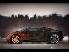 ❦ 2012 Bugatti Veyron 16.4 Grand Sport by Bernar Venet