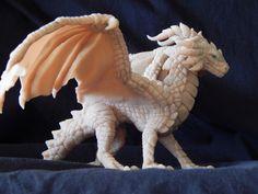 Дракон, которым я гордилась дракон, полимерная глина, творчество, пятница, моё, ручная работа, длиннопост