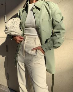 Cute Casual Outfits, Girl Outfits, Fashion Outfits, Womens Fashion, Spring Outfits, Ootd Spring, Jackets Fashion, Basic Outfits, Outfit Summer