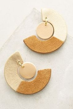 Two-Thirds Drop Earrings | Anthropologie