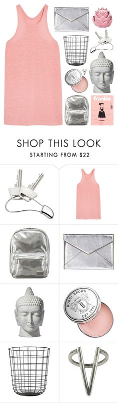 """""""BETTER CHANGE YOUR MIND"""" by constellation-s ❤ liked on Polyvore featuring Georg Jensen, T By Alexander Wang, Pantone, Rebecca Minkoff, Bobbi Brown Cosmetics, The 2 Bandits, Zara Home, bathroom, unicorntags and philosoqhytags"""