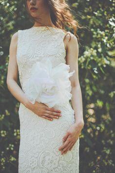 Abiti da sposa di gran Rose avorio fusciacca cintura fiori matrimonio di BrideLaBoheme su Etsy https://www.etsy.com/it/listing/163070438/abiti-da-sposa-di-gran-rose-avorio