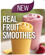 Free Real Fruit Smoothie with Purchase @ Burger King Coupon  http://www.thefreebiesource.com/?p=157543