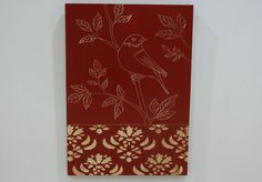 Carved wood wall art $199.99
