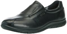 ECCO Women's Babett Slip-On Walking Shoe,Black,38 EU/7-7.5 M US *** You can find out more details at the link of the image.