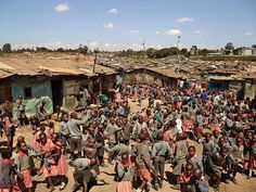 KENYA Valleyview Les cours d'école à travers le monde
