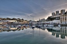 Morning Reflections at Torquay Harbour