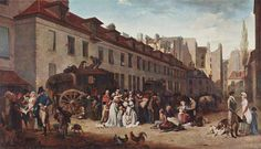 1803  L L Boilly  The Arrival of the Diligence