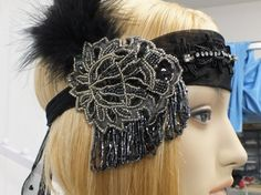 Flapper Headband Great Gatsby Headpiece Jazz by UrthGypsyVintage, $98.00