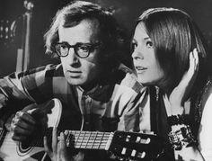 Diane Keaton con Woody Allen nel 1971 nel film Provaci ancora Sam