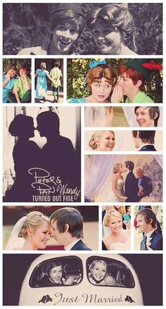 Never forget that Peter and Wendy got married in real life
