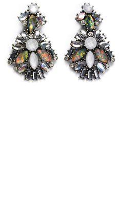Mango SS13 Jewelled Earrings
