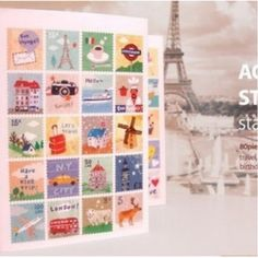 Find More Stickers Information about 80 pcs/lot ( one bag ) DIY Cute Kawaii Cartoon Animal Girl Stamp Sticker Sticky Scrapbook Paper for home decor Free shipping 423,High Quality stickers paypal,China sticker pvc Suppliers, Cheap stickers transformers from Chris Stationery Wholesale on Aliexpress.com