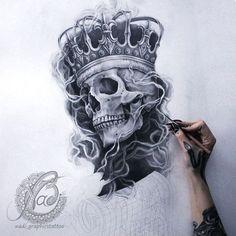 skull tattoos tattoo ink tatoo art folder tattoo flash chicano drawing ...
