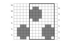 Patalappu onteloneuleella – katso ohje ja neulo patalaput – Kotiliesi.fi Bar Chart, Diagram, Bar Graphs