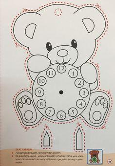 Saat Preschool Art, Preschool Worksheets, Preschool Activities, Cd Crafts, Baby Crafts, Paper Crafts, Science Crafts, Kindergarten Coloring Pages, Bird Template