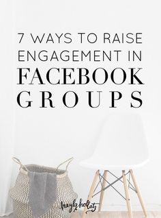 Have you started a Facebook group but aren't seeing much engagement? Here's how to increase your engagement through Facebook group challenges, live streams, and more! << Kayla Hollatz