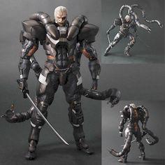 Square Enix DC811864 Metal Gear Solid 2 Play Arts Kai Figure - Solidus Snake