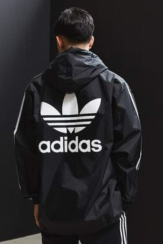 ESSENTIAL PULLOVER WINDBREAKER FROM ADIDAS - Check it out now - Adidas Anorak  Jacket  adidas 594758dd9