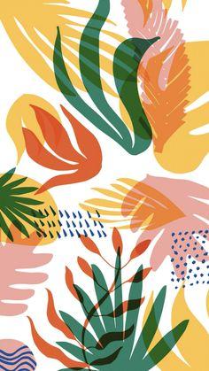 Pastel Wallpaper, Wallpaper Backgrounds, Aesthetic Iphone Wallpaper, Aesthetic Wallpapers, Textures Patterns, Print Patterns, Art Watercolor, Pattern Illustration, Pattern Art