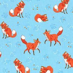 Robert Kaufman Fabrics: AUI-15231-286 WILD by Sea Urchin Studio from Forest Fellows