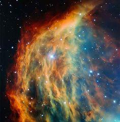 Nebulosa Medusa - Foto: Reprodução/eso.org