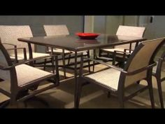 Gensun Casual Living raises the bar with introduction of new products - YouTube   #FamilyLeisure Outdoor Seating, Outdoor Tables, Outdoor Decor, Family Leisure, Outdoor Dining Furniture, Dining Set, Tuscany, Relax, Patio