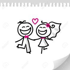 mariage dessin animé - Google Search