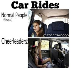 Any cheer Position? I am in it in the car.