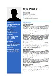 sjabloon word cv 103 beste afbeeldingen van CV sjablonen van Lifebrander   Ms, Cv