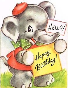 Elephant Ryley's Birthday!