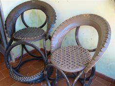 Tire Craft, Sisal, Tire Furniture, Tire Chairs, Tyres Recycle, Used Tires, Diy Car, Diy Canvas Art, Diy Garden Decor