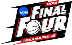"""The logo for the 2015 NCAA Men's Final Four basketball tournament was unveiled earlier today, the """"final four"""" phase of the bracket will take place in Indianapolis, Indiana for the first time since A side-by-side showing the logos of […] Final Four Basketball, Ncaa Final Four, Basketball Finals, Basketball History, Love And Basketball, Basketball Bracket, Basketball Court, Bracket Challenge, Tv Schedule"""