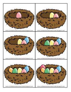 Learning Numbers Preschool, Preschool Centers, Kindergarten Activities, April Easter, Easter Bunny, Scrapbook Images, Kids Math Worksheets, Spring Theme, Farm Theme