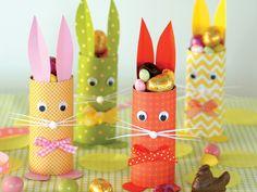 Lapins de Pâques à réaliser avec les enfants