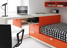 Home Room Design, House Design, Studio Room, Smart Furniture, Bed Storage, House Rooms, Room Colors, Kids House, Room Decor