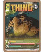 Upper Deck Marvel Ultimate Battles Ultra Rare Foil Card- Thing #MUB-163 - $20.00