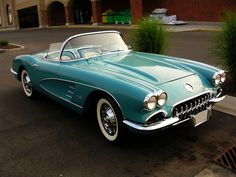 1960 #Chevrolet #Corvette C1 - A beautiful part of #History. #Classic #Convertible #SportsCar