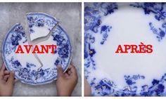 Ne jetez plus votre vaisselle brisée en morceaux: cette astuce incroyable la recolle comme rien d'autre!