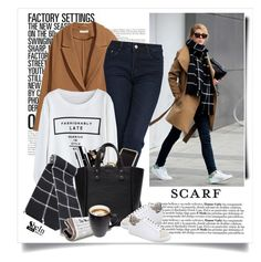 """""""It's a Wrap! Fun Fall Scarves"""" by yexyka ❤ liked on Polyvore featuring H&M, Swarovski, Chanel and IRO"""