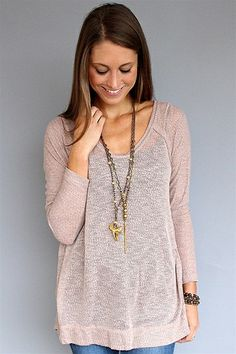 Free People - Peony Owl Eyes Pullover Tunic Tee to wear with leggings