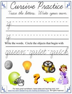 Learn how to form the cursive lowercase letters 'm' through 'r' with these printable cursive worksheets & activities. Cursive Writing Worksheets, Reading Worksheets, Cursive Letters, Handwriting Practice, Free Math, Letter Recognition, Simple Words, Kids Writing, Lower Case Letters